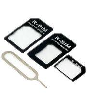 Univerzálny adaptér pre nanosím karty + MicroSIM adaptér + nástroj pre vybratie šuplíku