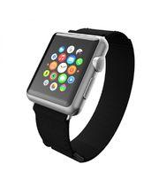 Incipio výměnný řemínek Stitch pro Apple Watch 38mm, černý